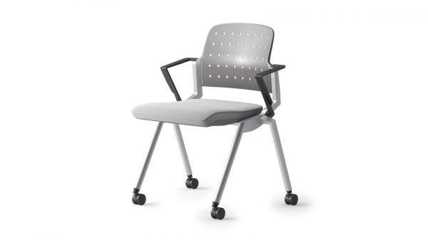 alan desk flexxy stacking / nesting chair ofs