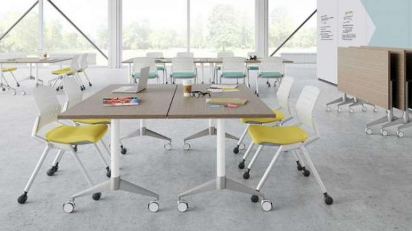 ofs flexxy stacking chairs alan desk 3