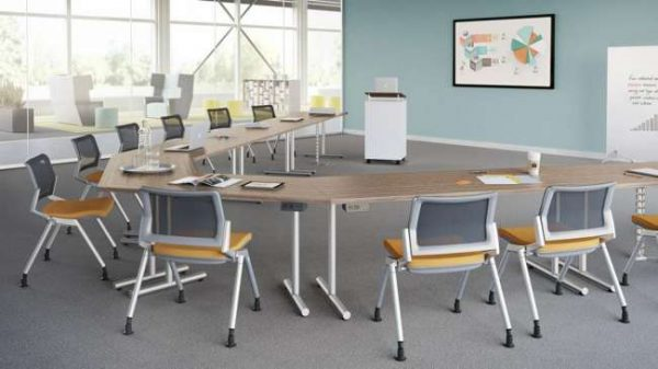 ofs flexxy stacking chairs alan desk 4