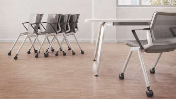 ofs flexxy stacking chairs alan desk 6