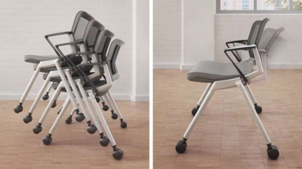 ofs flexxy stacking chairs alan desk 8