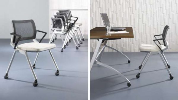 ofs flexxy stacking chairs alan desk 9