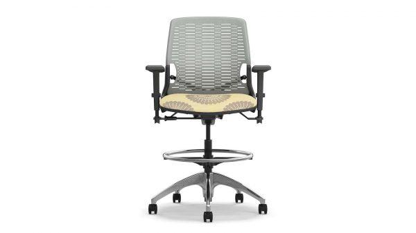 alan desk insync stool ofs