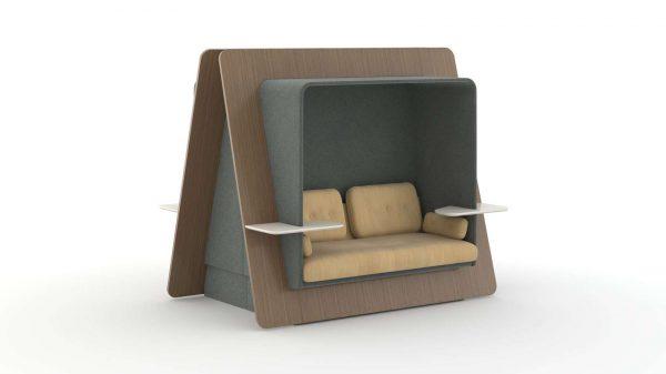 Alan Desk LeanTo Lounge Seating OFS