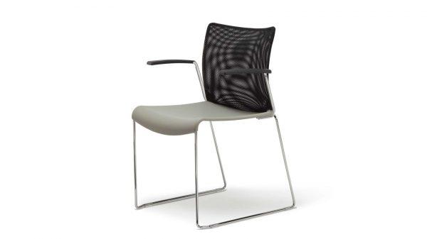 Alan Desk Quickstacker Guest/Stacking Chair OFS