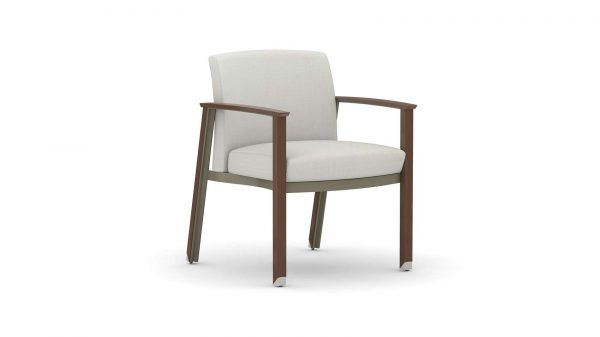 Alan Desk Silvr Ion Wood Guest/Multi-Use Chair OFS