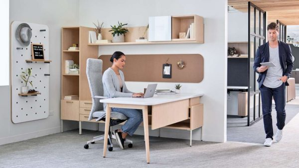 OFS Staks private office furniture desk