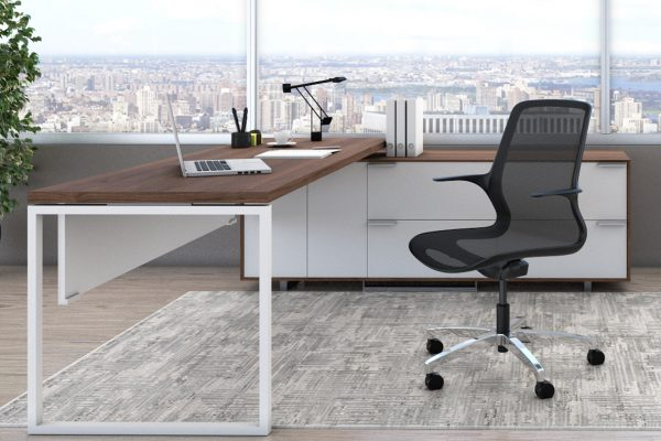 <ul> <li>conference, collaborative, and stool seating</li> <li>one-piece mesh back and seat</li> <li>integrated intuitive control</li> <li>supports multiple sit positions</li> <li>polished aluminum base standard</li> <li>choice of two frame colors with coordinating mesh</li> <li>warranted to 300 lbs.</li> </ul>