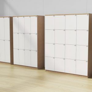 Alan Desk Lockers Storage DeskMakers