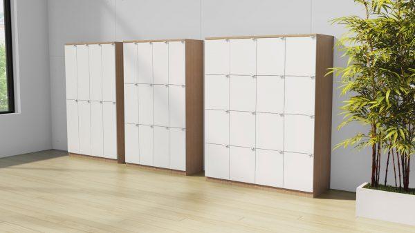 alan desk lockers storage deskmakers