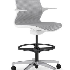 Alan Desk Omnia Stool 9to5 Seating