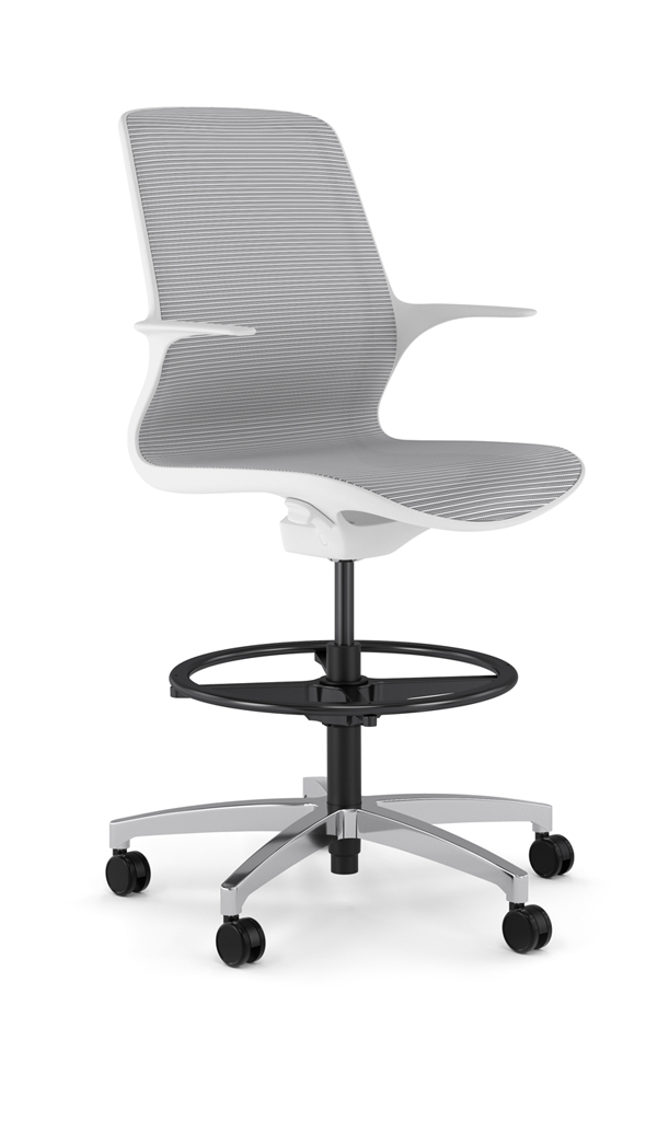 Alan Desk Omnia Stool 9to5 Seating