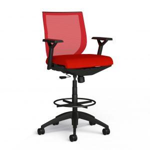 Alan Desk Aria Stool 9to5 Seating