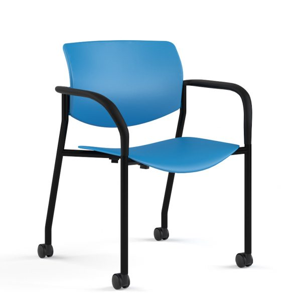 alan desk shuttle stacking chair 9to5 seating