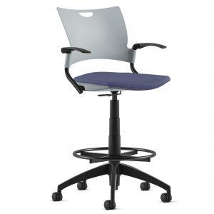 Alan Desk Bella Stool 9to5 Seating