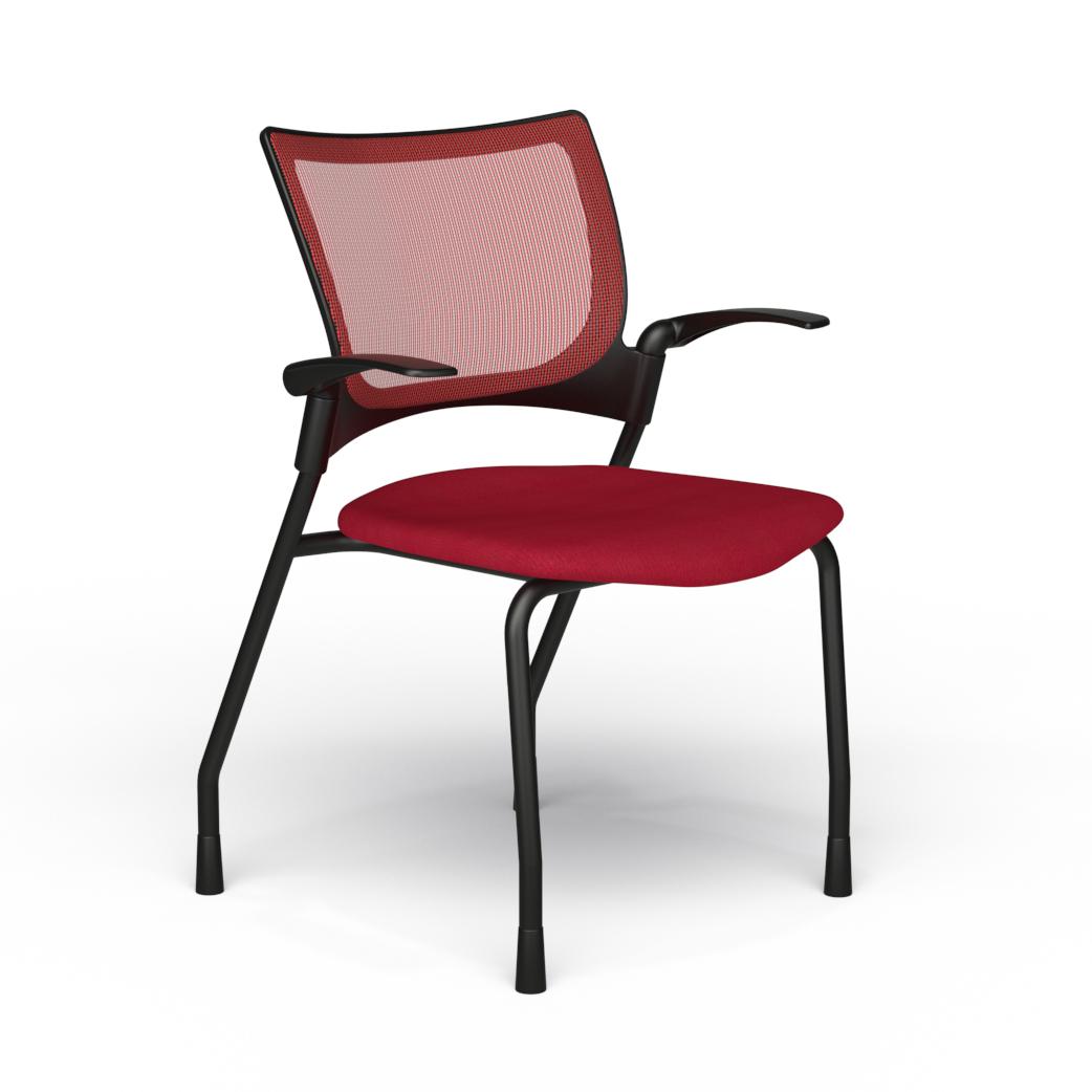 Alan Desk Bella Mesh Nesting Chair 9to5 Seating