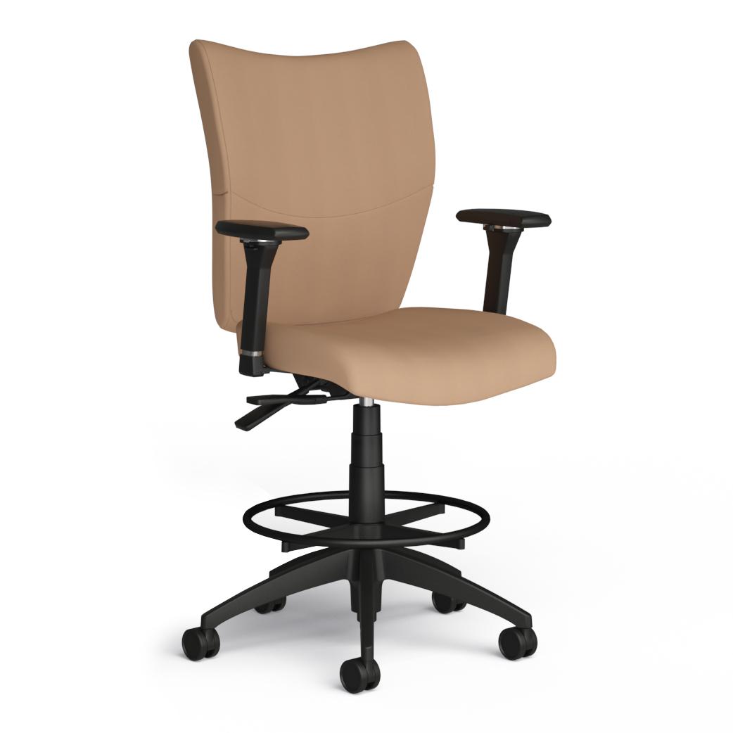 Alan Desk Bristol Stool 9to5 Seating