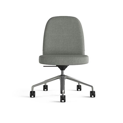 collo keilhauer alan desk 1 <ul> <li>available in multiple textiles & com</li> <li>arm or armless option</li> <li>5 star aluminum base or nylon base available in black, warm grey, and dark grey</li> <li>available as a guest & lounge chair</li> </ul>