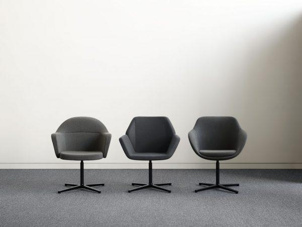 collo keilhauer alan desk 10 <ul> <li>available in multiple textiles & com</li> <li>arm or armless option</li> <li>5 star aluminum base or nylon base available in black, warm grey, and dark grey</li> <li>available as a guest & lounge chair</li> </ul>