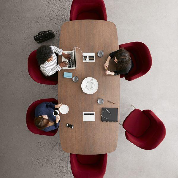 collo keilhauer alan desk 6 <ul> <li>available in multiple textiles & com</li> <li>arm or armless option</li> <li>5 star aluminum base or nylon base available in black, warm grey, and dark grey</li> <li>available as a guest & lounge chair</li> </ul>