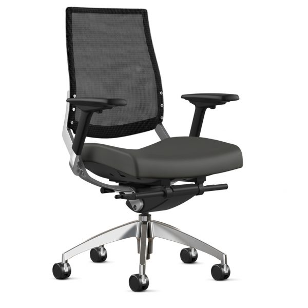 Alan Desk Cosmo Mesh Chair 9to5 Seating