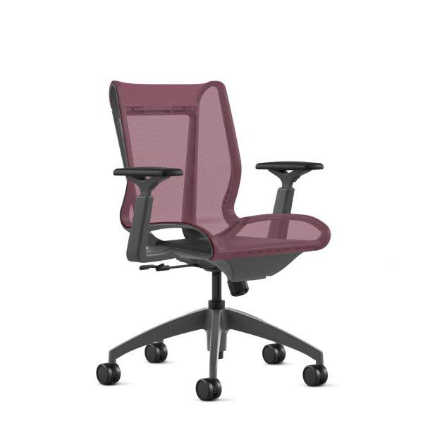 alan desk cydia mesh task chair 9to5 seating