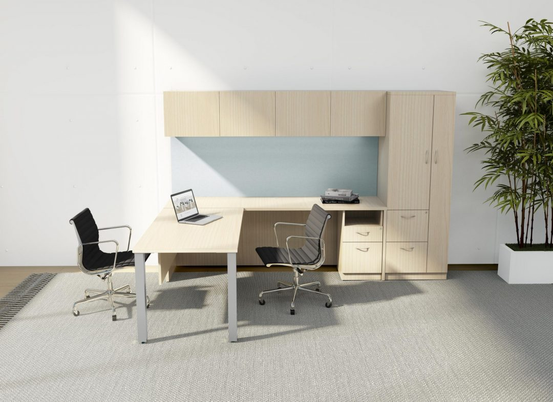 Alan Desk Convergence Casegoods DeskMakers