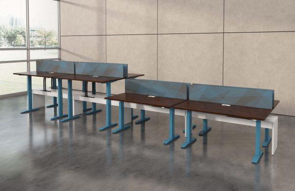 deskmakers hover heightadjustable desk benching alandesk 16 scaled
