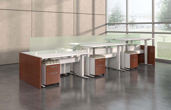 deskmakers hover heightadjustable desk benching alandesk 18 scaled