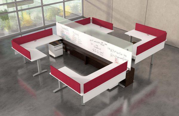 deskmakers hover heightadjustable desk benching alandesk 19 scaled