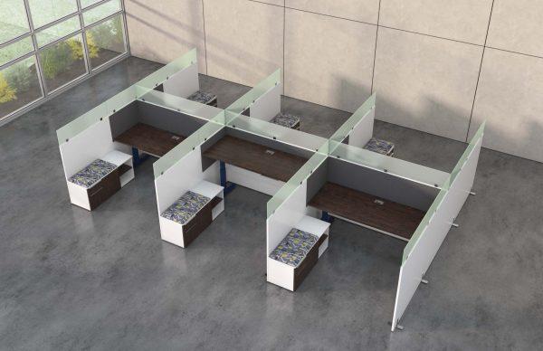 deskmakers hover heightadjustable desk benching alandesk 21 scaled