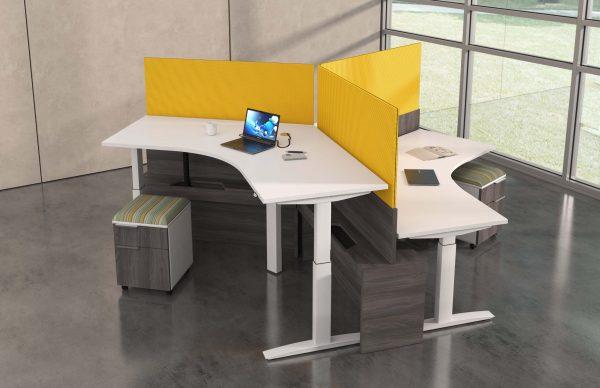 deskmakers hover heightadjustable desk benching alandesk 22 scaled