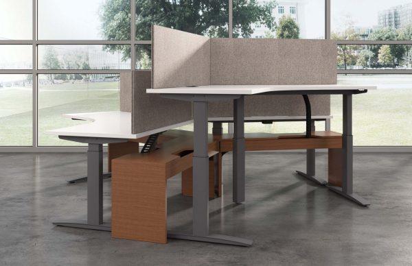 deskmakers hover heightadjustable desk benching alandesk 23 scaled