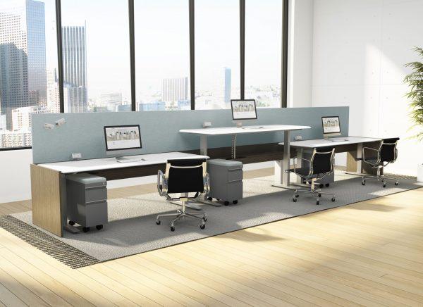 deskmakers hover heightadjustable desk benching alandesk 26 scaled