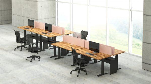 deskmakers hover heightadjustable desk benching alandesk 28 scaled