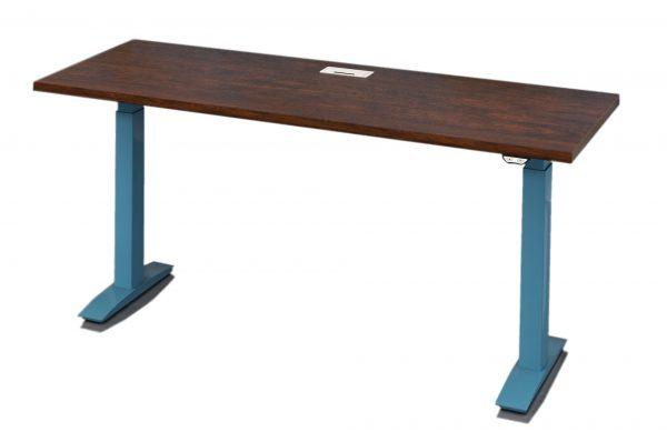 deskmakers hover heightadjustable desk benching alandesk 5