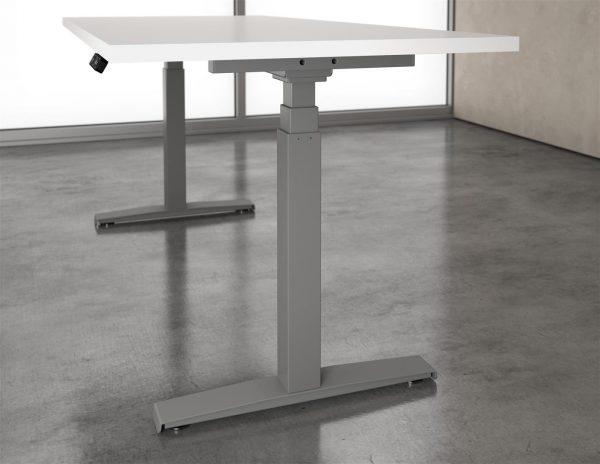 deskmakers hover heightadjustable desk benching alandesk 8