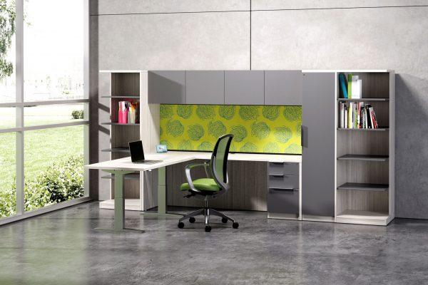 deskmakers hover heightadjustable desk benching alandesk 9 scaled