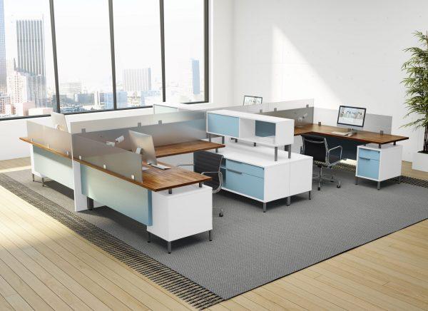 Alan Desk TeamWorx Cubicles DeskMakers