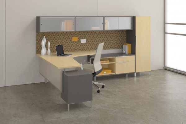 Alan Desk TeamWorkx Casegoods DeskMakers