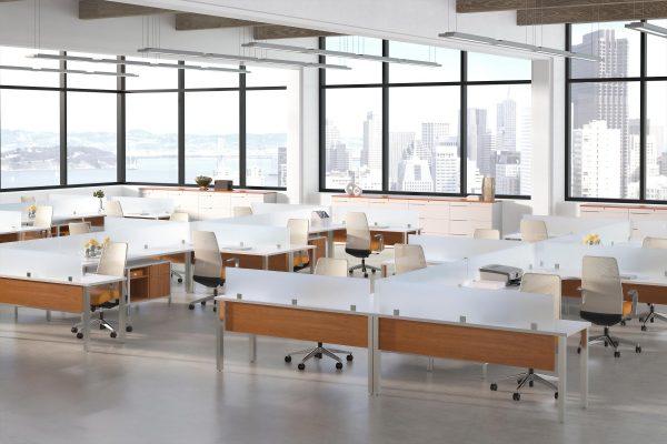deskmakers teamworx modular desk cubicle alandesk 15