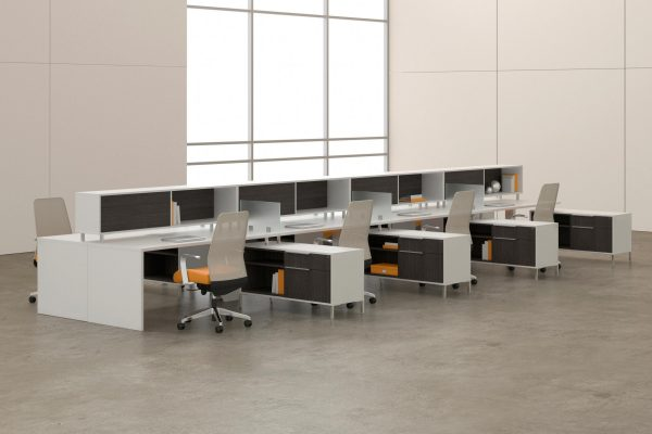 deskmakers teamworx modular desk cubicle alandesk 5