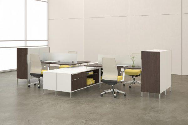 deskmakers teamworx modular desk cubicle alandesk 8