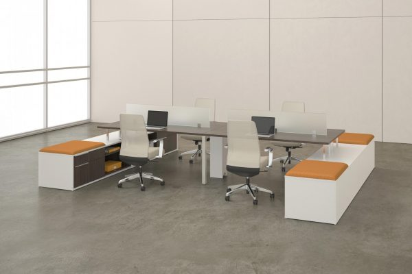 deskmakers teamworx modular desk cubicle alandesk 9