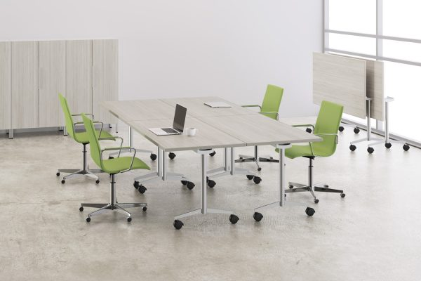 deskmakers training tables modular table conference alandesk 2