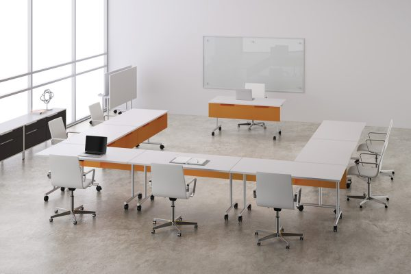 deskmakers training tables modular table conference alandesk 3