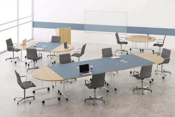 deskmakers training tables modular table conference alandesk 8