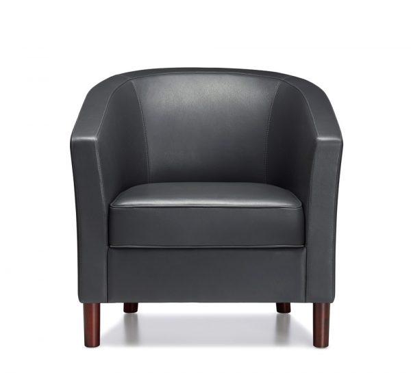 alan desk km round back lounge seating keilhauer
