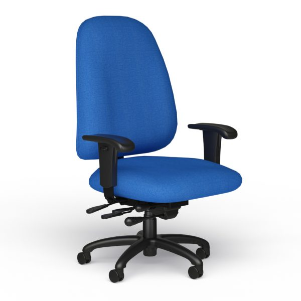 alan desk logic plus task chair 9to5 seating
