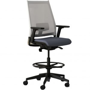 Alan Desk Luna Stool 9to5 Seating
